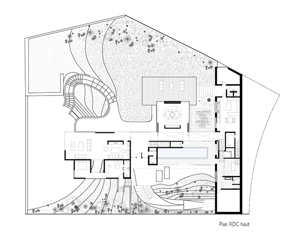 07-Plan-RDC-Haut-Construction-Villa-Mexique-Piscine-Interieur-Atela-Architectes